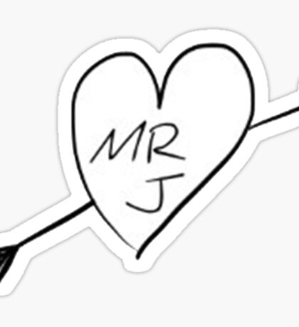 Mr J Sticker