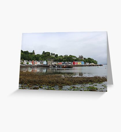 A view over Tobermory Greeting Card