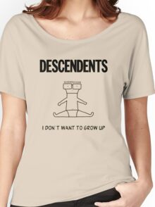 I Dont Want to Grow Up Women's Relaxed Fit T-Shirt