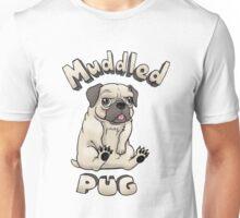 Muddled Pug Unisex T-Shirt
