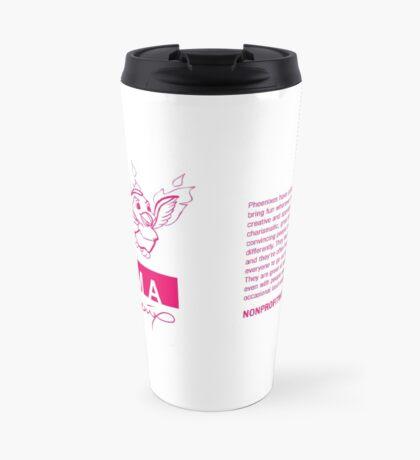 I AM A PHOENIX (horizontal) Travel Mug
