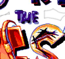 Earthworm Jim - U're the Best Sticker
