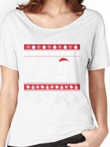 MERRY VIZMAS Art - Vizsla Ugly Christmas Sweater Design Women's Relaxed Fit T-Shirt