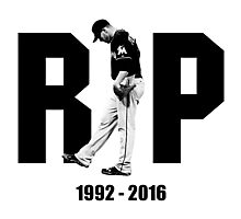 rip jose fernandez honors t-shirt Photographic Print