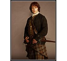 Jamie Fraser Outlander Warriors Photographic Print