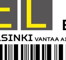 Destination Helsinki Airport Sticker