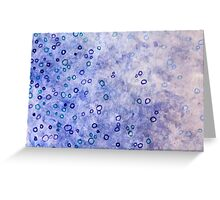 Artistic Bubbles Greeting Card