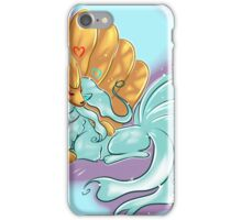 Ice and Fire Ninetails iPhone Case/Skin