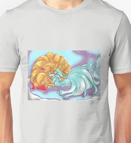 Ice and Fire Ninetails Unisex T-Shirt