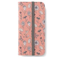 Blush Meadow Floral iPhone Wallet/Case/Skin