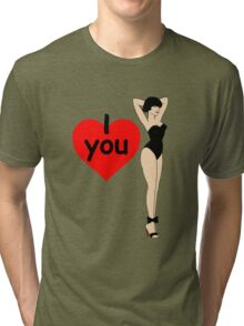 Show Your Love Tri-blend T-Shirt