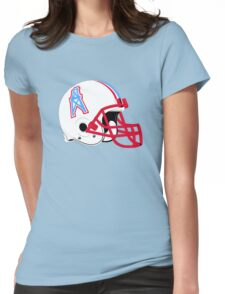 Houston Oilers Womens Fitted T-Shirt