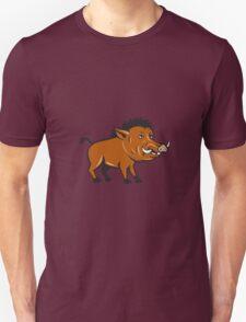 Razorback Side Cartoon Unisex T-Shirt