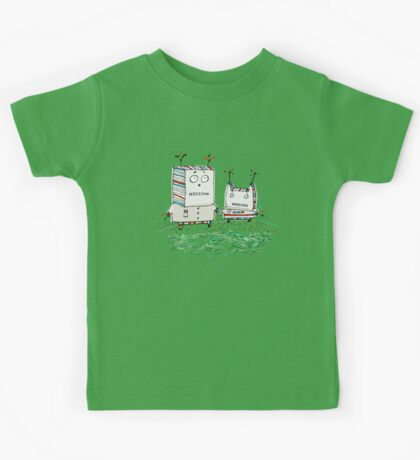 Robots at the Beach  Kids Clothes