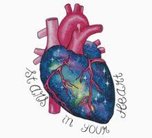 Stars In Your Heart Kids Tee
