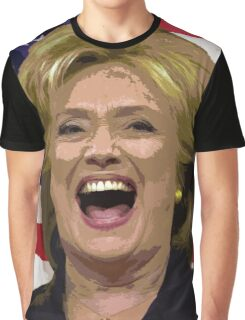 Hilary Hilldog Woof Woof Woof Clinton USA President Candidate 2016 Graphic T-Shirt
