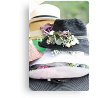 handmade hats Canvas Print