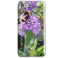 Flowers and wildlife at Tremayne iPhone Case/Skin