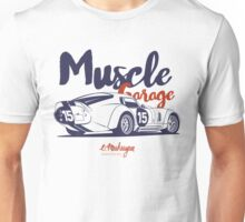 Muscle garage. Shelby Cobra Daytona Unisex T-Shirt