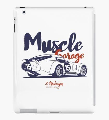 Muscle garage. Shelby Cobra Daytona iPad Case/Skin