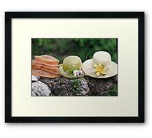handmade hats Framed Print