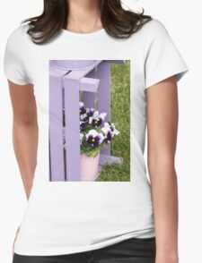 flower in spring Womens Fitted T-Shirt