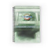 Haunted London - Holborn Spiral Notebook