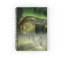 Haunted London - Temple Spiral Notebook