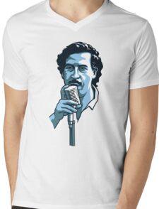 Pablo Escobar 2 Mens V-Neck T-Shirt
