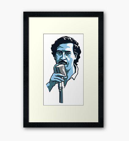 Pablo Escobar 2 Framed Print