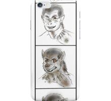 Werewolf transformation 1 iPhone Case/Skin