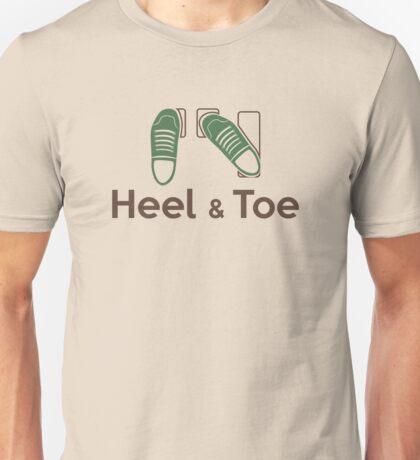 Heel & Toe (5) Unisex T-Shirt