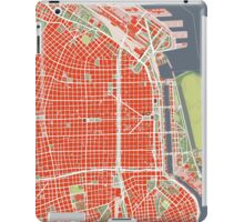 Buenos Aires city map classic iPad Case/Skin