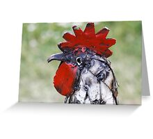 rooster craft Greeting Card