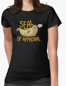 The seal animal Womens Fitted T-Shirt