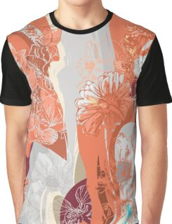 Flower Jungle 3 - Autumn Graphic T-Shirt