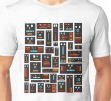 Crazy Robot Friends Unisex T-Shirt