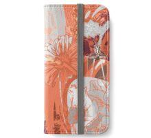Flower Jungle 3 - Autumn iPhone Wallet/Case/Skin