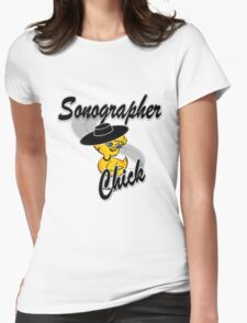 Sonographer Chick #4 Womens Fitted T-Shirt
