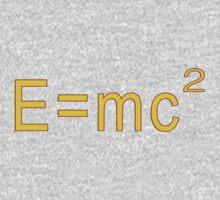 E=MC2 Sticker One Piece - Long Sleeve