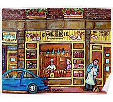 KOSHER BAKERY BOULANGERIE CHESKIE MONTREAL  Poster