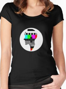 TV-head Women's Fitted Scoop T-Shirt