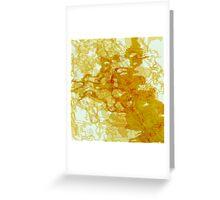 20160929 orange oblivion no. 2 Greeting Card