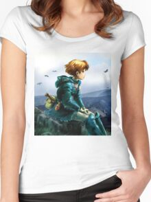 Nausicaa of the Valley of the Wind Women's Fitted Scoop T-Shirt