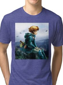 Nausicaa of the Valley of the Wind Tri-blend T-Shirt