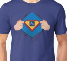 Superdesigner! — Photoshop version Unisex T-Shirt