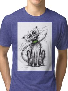 Mr Whiskers Tri-blend T-Shirt