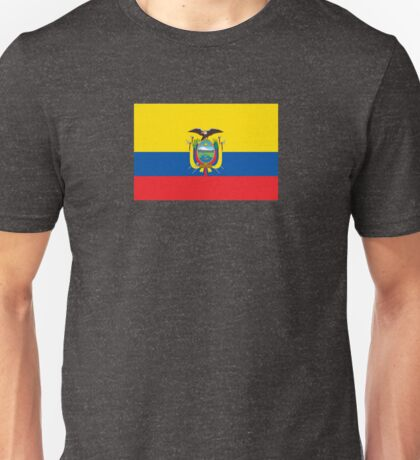 Ecuador World Cup Flag - Ecuadorian Football T-Shirt Unisex T-Shirt