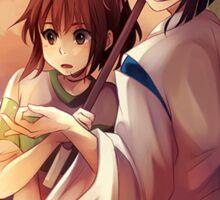 Chihiro and Haku  Sticker