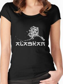 AK1 ALASKAN Women's Fitted Scoop T-Shirt